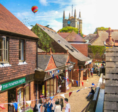 Artist's impression of St Mary's Walk