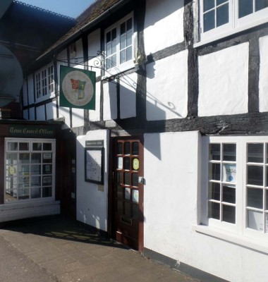 View of the outside of the Hailsham Town Council offices