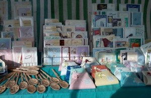 Photo of a stall at the Hailsham Farmers Market