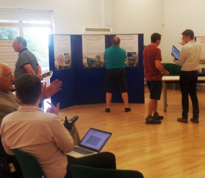 Photo of Neighbourhood Plan public consultation event