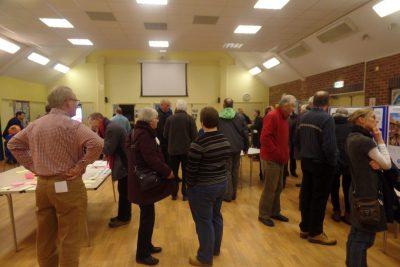 Photo of Neighbourhood Plan public consultation event