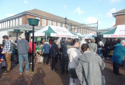 Photo of Hailsham Street Market stalls