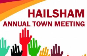Hailsham Annual Town Meeting advert