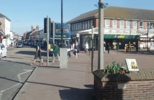 Hailsham town centre