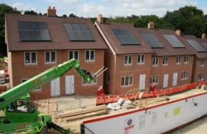 Photo of a housing development