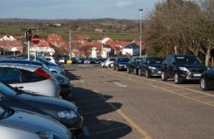 Vicarage Lane car park