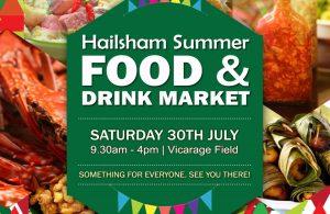 Hailsham Summer Food & Drink Market 2015 advert