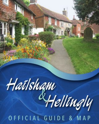 Photo of front cover of Hailsham & Hellingly Officual Guide and Map