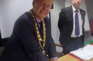NewPhoto of the newly Mayor Of Hailsham