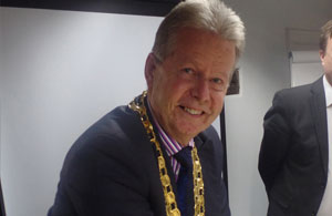 NewPhoto of the newly Mayor Of Hailsham