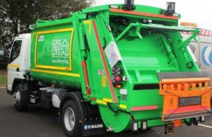 Photo of a refuse lorry