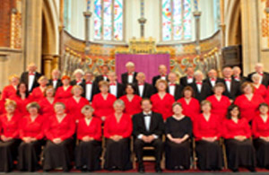 Photo of the Hailsham Coral Society at All Saints Church Eastborune