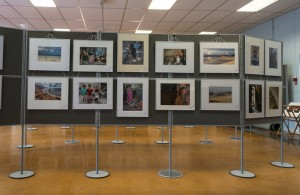 View of the Hailsham Colours Photographic exhibition