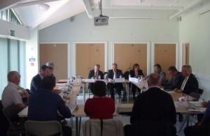 Photo of a Hailsham Forward meeting