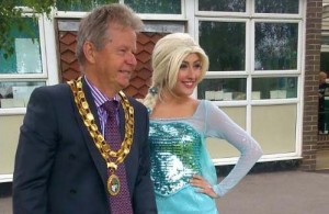 Hailsham Town Mayor at the annual summer fair