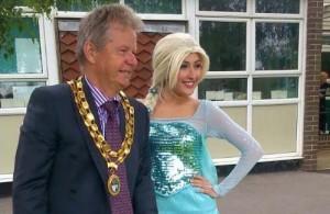 Town Mayor Opens Annual Summer Fair Hailsham Town Council