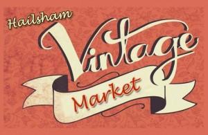 Themed Vintage Market poster