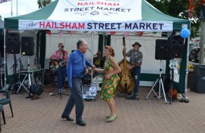 Vintage Market in Hailsham 2015
