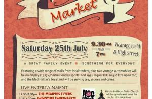 Hailsham Vintage Market poster