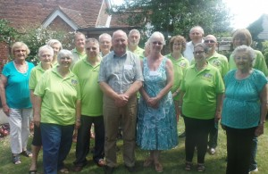 In Bloom Judges with Environment Hailsham Members