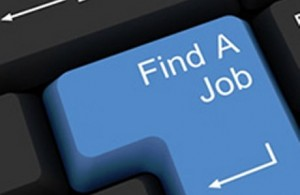 Keyboard with Find A Job highlighted