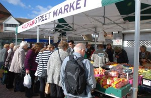 Hailsham Street Market