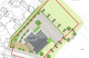James West Centre proposed site layout