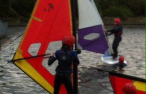 Friday Night Project windsurfing activities