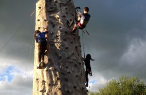 Climbing activities at Knockhatch - Friday Night Project