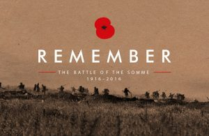 Remember the Battle of the Somme