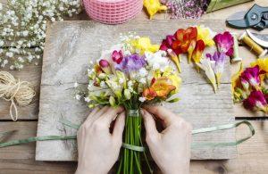 Flower Club and flower arranging