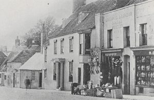 Old photo of George Street
