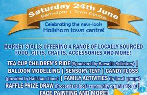 Celebrate Hailsham Day 2017 poster advert