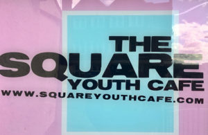 Square Youth Cafe window