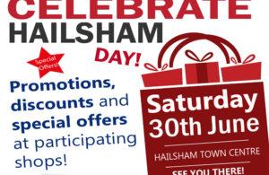 Celebrate Hailsham Day advert artwork