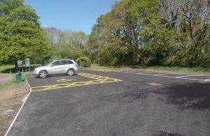 Hailsham Country Park car park