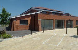 James West Community Centre building exterior