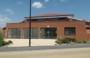 Photo of outside of James West Community Centre