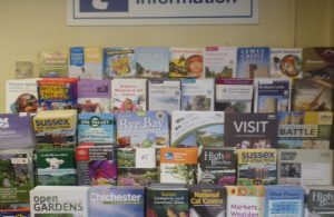 Town Council offices - resident and visitor information display