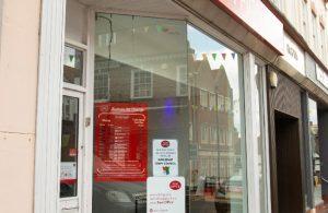 Hailsham Post Office frontage