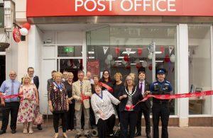 Hailsham Post Office official opening
