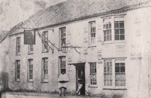 Old photo of Corn Exchange, Hailsham