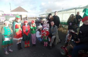 Hailsham Christmas Market - Best Dressed Elf competition winners