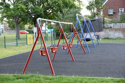 Photo of play area in Hailsham