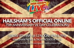 Advert for Hailsham Live 75th Anniversary of VE Day Celebrations