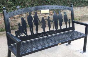 Photo of Commemorative Bench for Coronavirus Pandemic