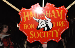 Photo of Hailsham Bonfire Society emblem